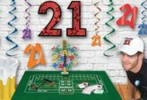 21st Birthday Party Ideas / Know someone who's turning 21? Find all the 21st birthday party ideas and supplies you need to give them the once in a lifetime night they deserve!