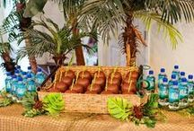 Luau Pool Party / Decorations, Supplies and ideas to help inspire you to host a Luau Pool Party / by Party Cheap