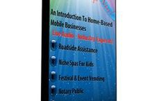 Mobile Business / Mobile businesses that go to customers and provide products and services.