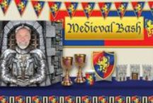 Medieval Party Ideas / Medieval or Renaissance Faire theme parties are growing in popularity! PartyCheap has everything you need to take your party space back to the Dark Ages or bring it into the age of enlightenment! / by Party Cheap