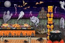 Cheap Halloween Party Ideas / Family friendly or super spooky, PartyCheap has the supplies and the creativity to help you have a scary, low cost party. Boo! You can use a mixture of do-it-yourself projects as well as shopping from PartyCheap's inexpensive line of Halloween decorations.  / by Party Cheap