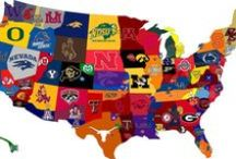 NCAA College Party Supplies & Decorations / Whether it's for your tailgate on game day, or an event for your school we have you covered with all your NCAA College team party supplies here at PartyCheap.com! / by Party Cheap