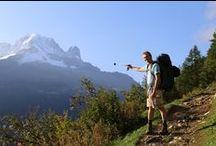 1/2 Tour du Mont-Blanc (Courmayeur-Chamonix) 30.8-4.9.2015 / 6 hiking days: Day 1 - Hiking 4h30 + pauses / Night in Refuge Bonatti Day 2 - Hiking 5h45 + pauses / Night in Hôtel Col de fenêtre Day 3 - Hiking 5h00 + pauses / Night in B&B Les Marmottes (Champex) Day 4 - Hiking 5h00 + pauses / Night in Hôtel Grande Ourse (Trient) Day 5 - Hiking 6h10 + pauses / Night in Auberge la Boërne (Tré-Lechamp) Day 6 - Hiking 4h10 + pauses / Night in Chamonix