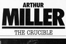 The Crucible by Arthur Miller / The board contains information about The Crucible. There is an abundance of content information, teaching idea, resources, and lessons. If you would like to contribute to the board, please follow it and email me at omega.english@yahoo.com Board Rules: For every 2 personal products posted, please post 1 one educational/informative pin or a free product and repin 1 product. Don't forget to spread the word, encourage others to follow the board, and repin.