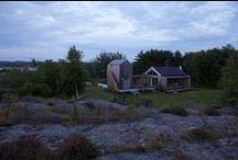 Otterön - Architect Harald B. Lode / Otterön - Summer cabin Sweden