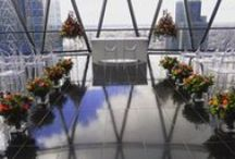 Harry & Holly 2016 Gherkin / A picturesque wedding held in the Gherkin in London - supplied and created by in-house florists at Triangle Nursery Ltd. If you have any questions, please call on 01394 385 832 or visit our website at www.trianglenursery.co.uk/fresh-flowers