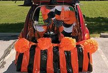 Trunk-or-Treat / Here at PartyCheap.com, we have plenty of decorations that can help turn your car into a decorative, candy-filled area!  / by Party Cheap