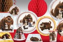 The Secret Life of Pets / Partycheap has all of the essentials for throwing the purrfect birthday party, including Secret Life of Pets theme plates, napkins, cups, party hats and loot bags!
