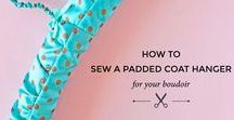 Sewing | Fantastic sewing ideas for you to try out! / A round up of our favourite sewing ideas including sewing patterns, sewing tutorials and sewing ideas