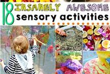 Sensory Play Activities / Sensory activities for toddlers and preschoolers