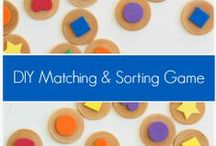 Learning Shapes / Activities for toddlers and preschoolers focusing on shapes.