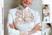Pointlace - Irish lace - Romanian point lace