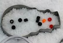 Winter Crafts & Activities / Winter activities and winter crafts for kids.  Simple crafts for preschoolers and toddlers