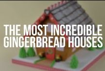 The Most Incredible Gingerbread Houses