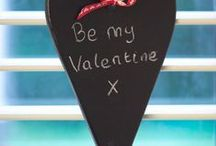 Valentine's Day / Clever spray paint project ideas to help you celebrate Valentine's Day -  with your loved one or with family and friends.