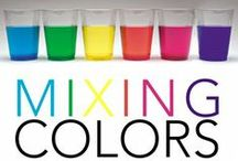 Learning Colors / Activities for preschoolers and toddlers that focus in on color recognition an color. #colors #learningactivities #toddlers #preschool