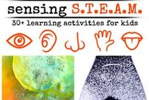 Science for Kids / Science Activities for Kids!  Hands on simple science activities and experiments for preschoolers.