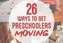 Gross Motor / Gross Motor activities for toddlers and preschoolers