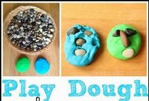 Playdough / Play dough sensory play, playdough recipes, and playdough activities for kids. / by Where Imagination Grows