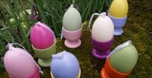 Easter Parade / Colourful and clever gifts or Easter treats for you to create easily at home with PlastiKote spray paint. Take a look at some of our ideas for inspiration and get creating.