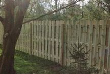 Fencing Portfolio / Precision Corporation's body of work includes building a variety of styles of fencing.