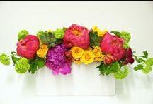 Multicolor Flower Arrangements / https://www.gabrielawakeham.com