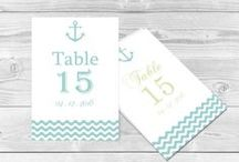 Wedding Table Numbers Card / Easy editable & printable wedding table number program templates. Use our wedding table number program templates to make your own DIY invitation at home.