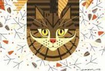 Charley Harper- Animal Kingdom