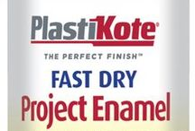 Fast Dry Enamel Colours / Plasti-kote Fast Dry Enamel superior quality paint comes in a handy 100ml spray and is ideal for small home decor projects or crafts and hobbies. Fast Dry Enamel is non-fading, long lasting paint available in 27 superb colours.