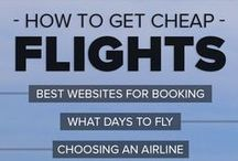 Airline Travel Hacks / Tips and tricks to save money on airfare and get the best airline ticket prices.