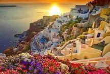 SANTORINI / GEZGİNİN GÖZÜNDEN DÜNYA KÖYLERİ / http://bubenimkoyum.org/a-village-on-santorini-island/