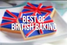 Best of British Baking / British themed cakes, cupcakes and biscuits.