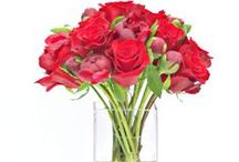 Red Flowers | NYC Romance / https://www.gabrielawakeham.com Red says romance in flowers and we have reworked red flowers into upscale modern floral arrangements to say 'I love you.' Vibrant rich red roses as stand-alone looks or mixed with other luxury flowers like peonies and orchids transform the 'I love you' bouquet and make it modern and newly beautiful. Available for same day delivery in Manhattan and nearby areas.