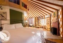 Yurt / This is our 30' Yurt at Strawhouse Resorts, www.strawhouseresorts.com.  An amazing place to be!