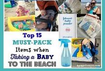 Tips for beachin' it with the kiddos