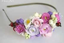Flower Crowns & Accessories / Inspiration full of flowers :-)