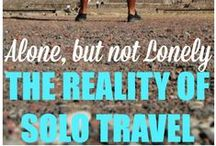 Travel Solo / Traveling by yourself.Solo Travel. Solo travel tips for women. Best solo travel destinations.
