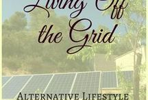 "Living off the grid / We live off the grid - but with electricity, running water, internet and everything an ""on-grid"" house has... plus some. The technology involved is amazing and ever evolving.   This board is for everything off-grid living: from DIY systems to elaborate solar, wind and other power generation for every off-grid home, farm or homestead. There's that and water (from wells and boreholes to rainwater harvesting, grey and black water systems) - and so many more off-grid hacks!"