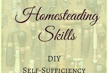 Homesteading / Homesteading starts with making what you can yourself. It's about getting independent from food stores, preparing for whatever may come, and building a beautiful and resilient home.