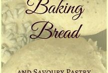 Baking Bread & Savoury Pastries / The best recipes for bread - using different kinds of flour (kamut, einkorn, spelt, rye, whole wheat).  Also: other bread-like side dishes like tortillas, pancakes, crackers, burritos, quiche,...
