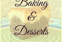 Baking - Sweets and Desserts / Baking is the ultimate relaxation therapy for me! Whenever I need to wind down, you'll find me in the kitchen trying out a new recipe for brownie or cheesecake (or both in one), cookies, puddings, mousse and so much more.  Being from Belgium, I'm also a born chocolate addict...