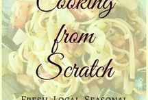 Home grown cooking / Cooking from scratch - organic, home-grown or local, fresh and seasonal food, prepared with love. Garden to table recipes, preserving food and more.