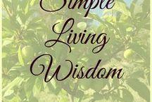 Simple Living Quotes & Wisdom