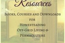 Resources & books - Homesteading, Off grid living, Permaculture and more / Books, courses, downloads and many more resources for the homestead, off-grid living and gardening novice or expert. Tools and places to learn old and new skills for the home, the garden and for building a simple life. To contribute to this board, please follow Sunny Simple Living / this board, and comment on one of my own pins. Please only share vertical pins with good quality images.