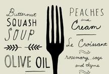 Food Illustration & painting