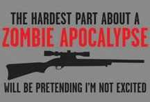Zombie stuff / by Beth Batten