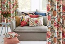 Botanical / Our botany inspired fabrics. Floral textiles for your interior.