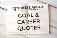 Goal & Career Quotes / Goals, setting goals, achieving goals, quotes, career, entrepreneur, ondernemen, carrière, doelen behalen, citaten, goal quotes, motivation, inspiratie, inspiration