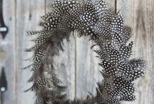 Höyhen-feather / Askartelu ja sisustusideoita höyhenistä.