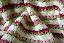 Crochet Afghans Squares and Pillows